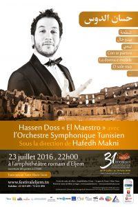 affiche orchestre tunisien-23-07-2016